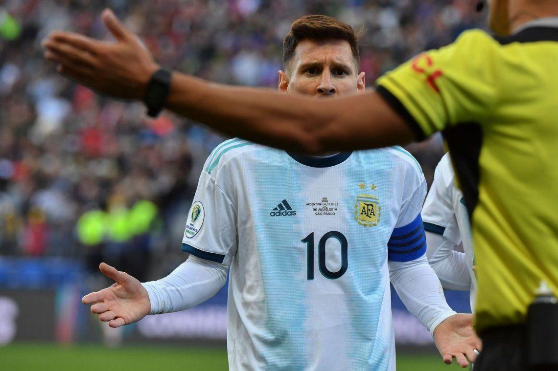 Lionel Messi seguirá suspendido: la Conmebol rechazó la apelación de la AFA