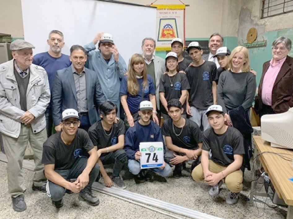 Avellaneda: dos escuelas técnicas se suma al Desafío Eco YPF