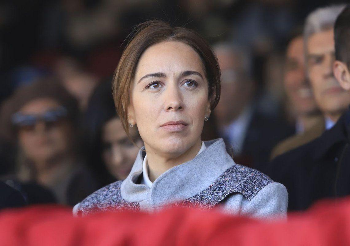 La gobernadora María Eugenia Vidal apuesta a una campaña de cercanía