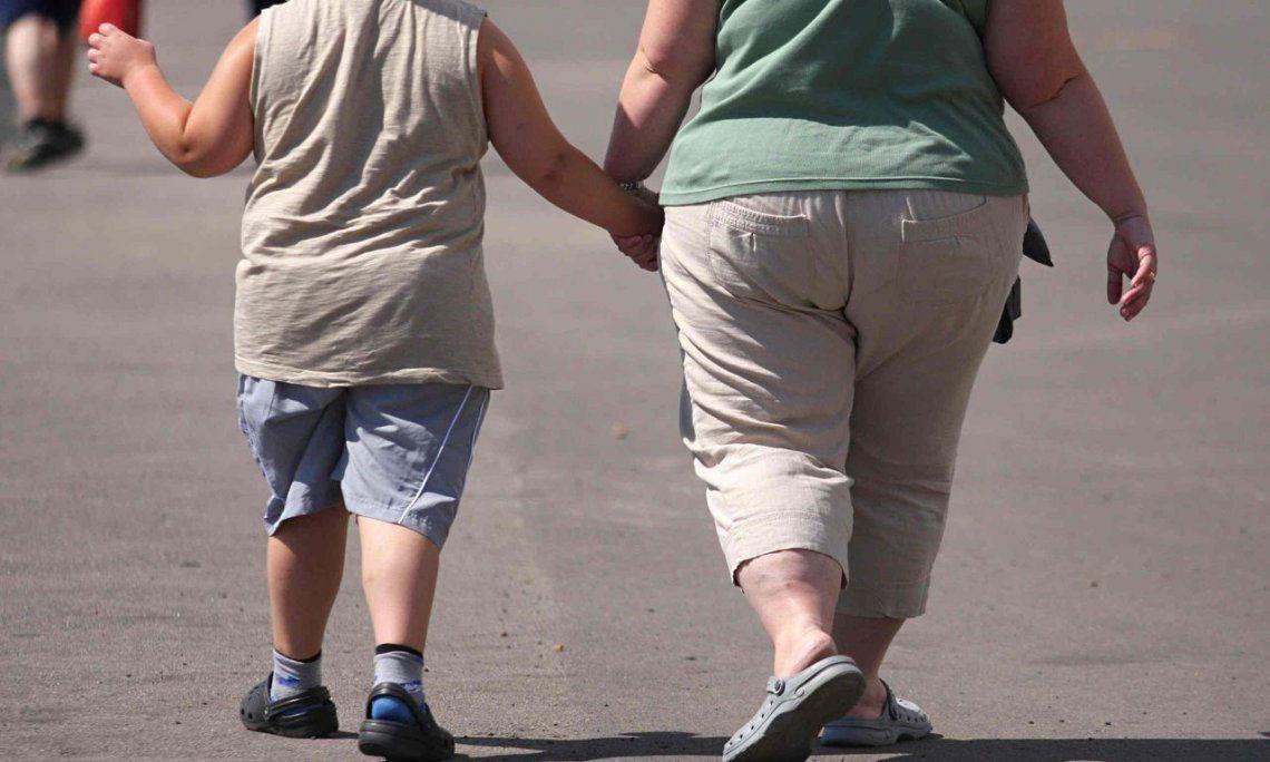 El 40% de los chicos de entre 5 y 17 años tiene exceso de peso en Argentina