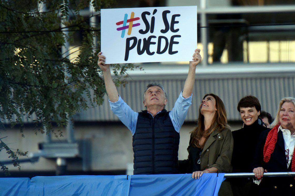 #SiSePuedeBelgrano | Mauricio Macri lanzó la campaña para intentar dar vuelta la elección: Sé que la clase media fue la que hizo el mayor esfuerzo