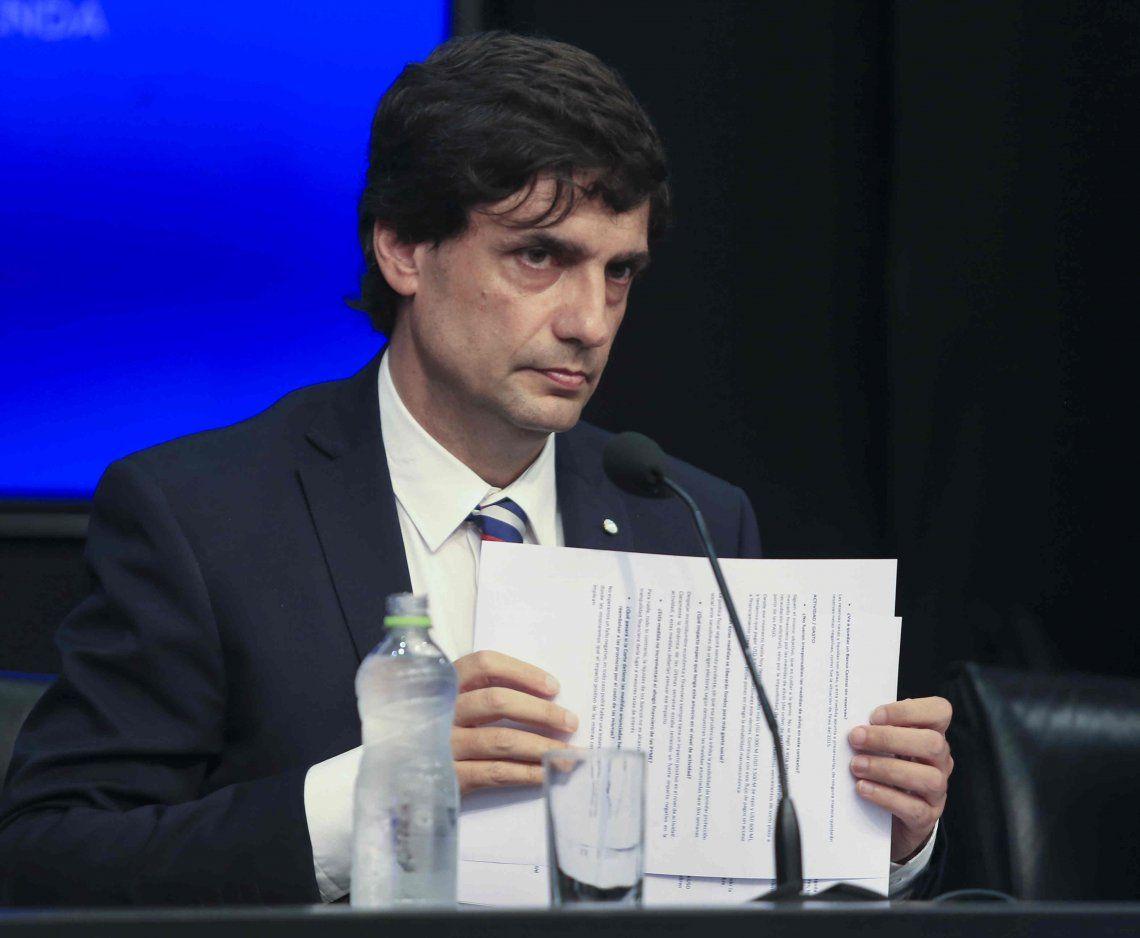 Hernán Lacunza: Creo que el desembolso del FMI va a estar dentro de este año