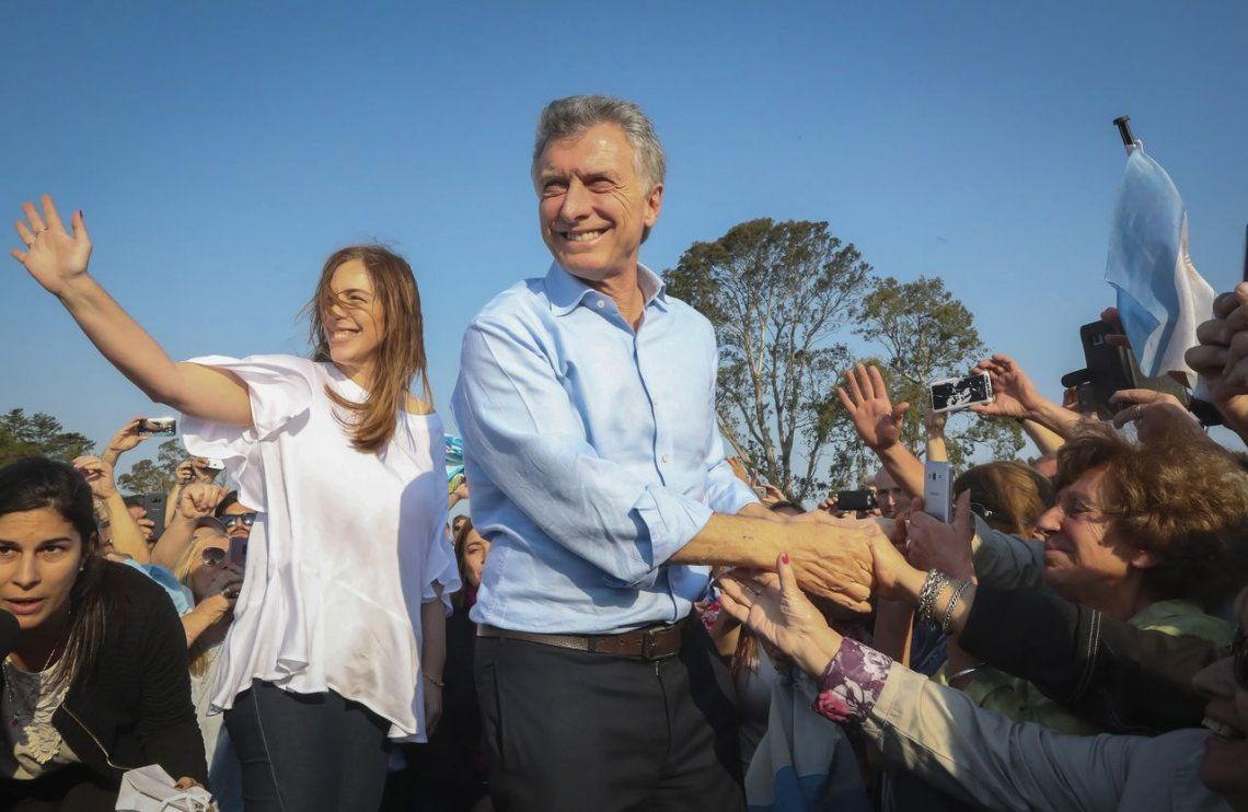 En el marco de la campaña Sí se puede, Macri estuvo con Vidal en Junín