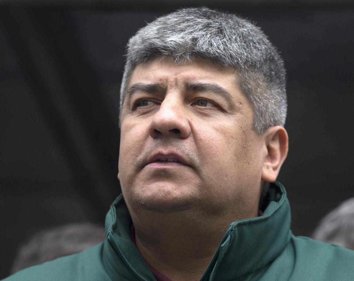 Pablo Moyano afirmó que presentarán un amparo para anular el decreto que reduce las indemnizaciones