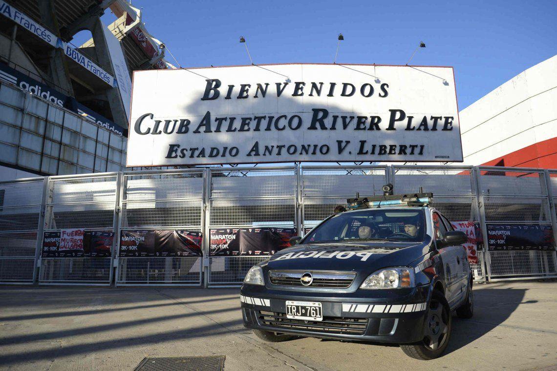 Súper operativo de seguridad para el River-Boca por la Libertadores