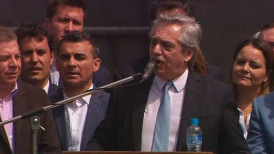 Alberto Fernández: La pobreza es el resultado de la inoperencia de gestionar