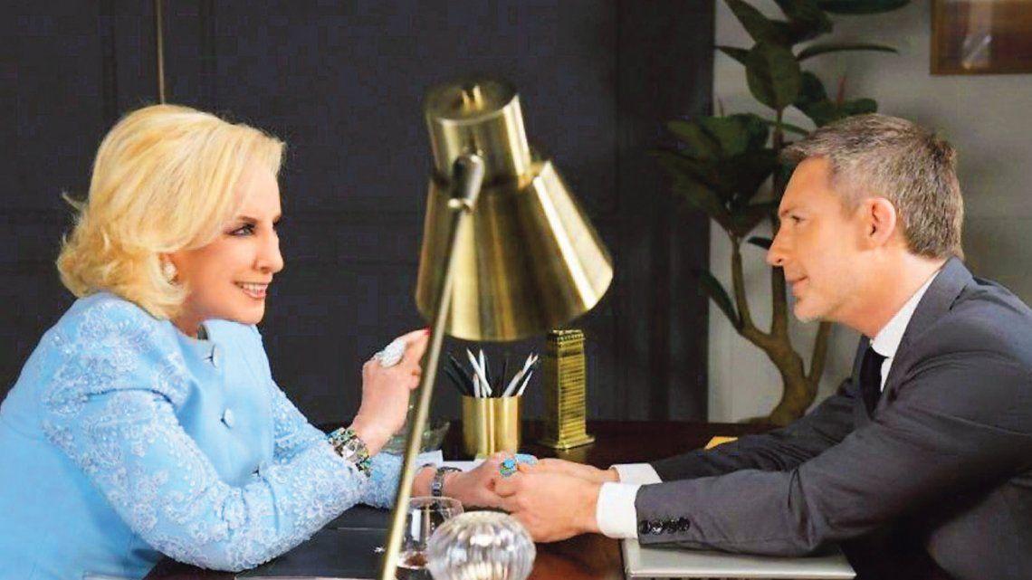 Mirtha Legrand invita a Adrián Suar para limar asperezas