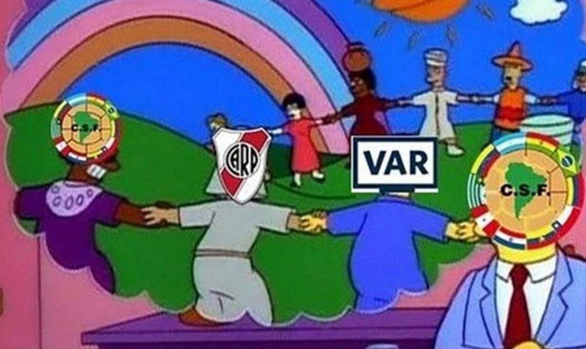 River-Boca: a favor o en contra, el VAR fue el protagonista indiscutido de la primera semifinal de la Libertadores