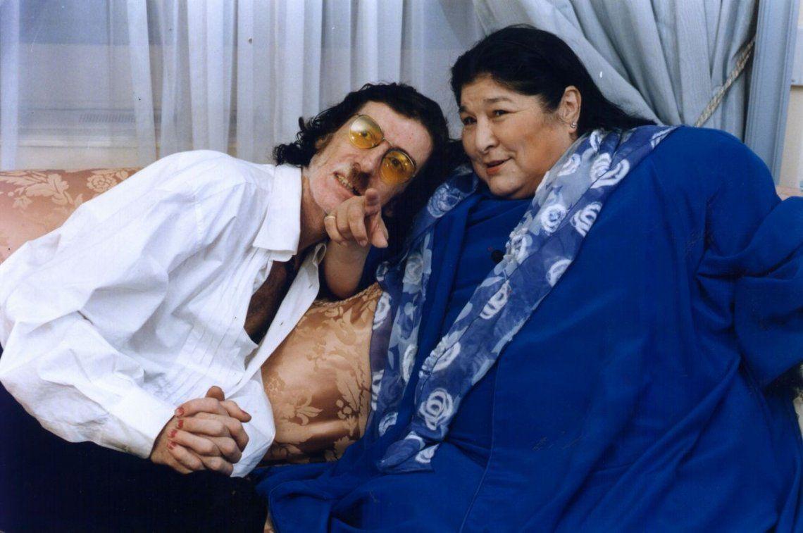 Mercedes Sosa y Charly García, una relación musical y humana