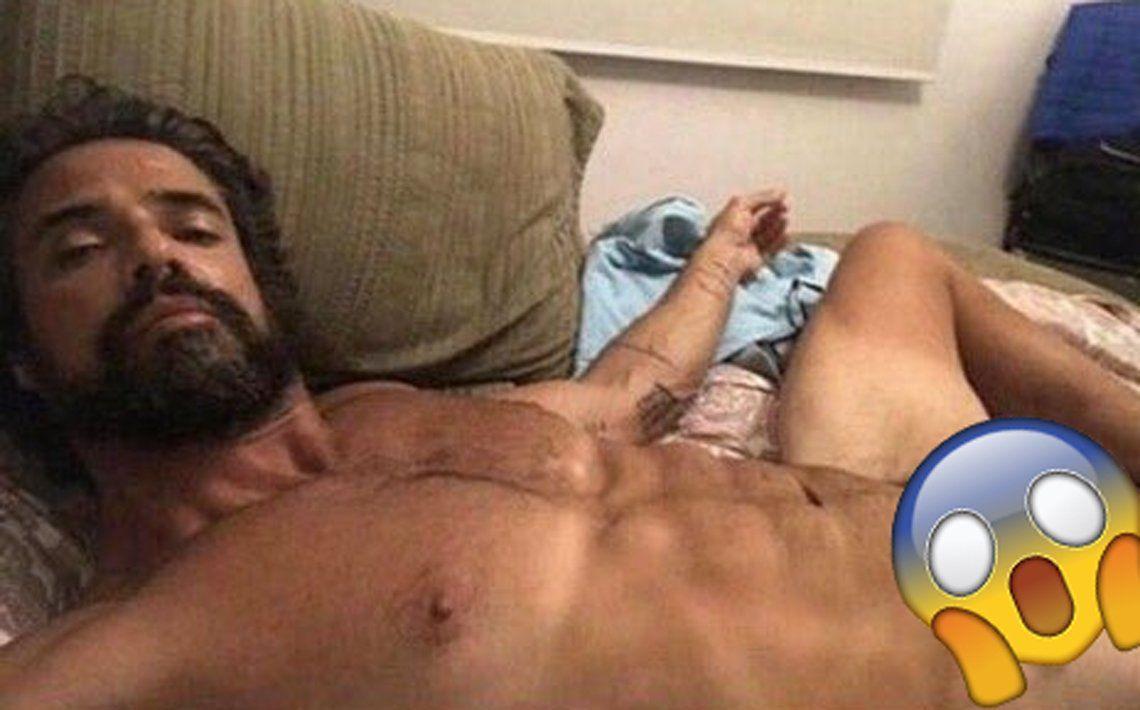 Filtraron una foto ultra hot de Luciano Castro y estallaron los memes