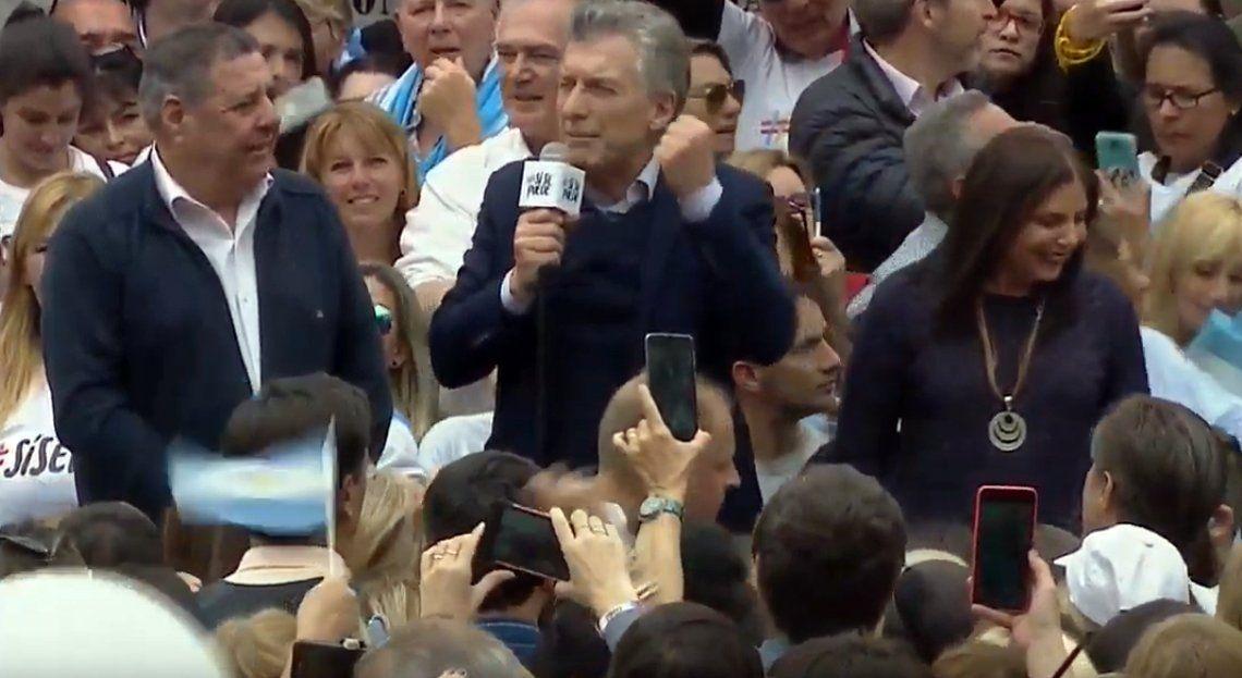 Macri: Tenemos que ir a fiscalizar, hay que cuidar el voto