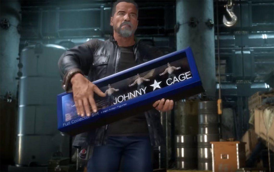 Mortal Kombat 11: el intimidante Terminator de Arnold Schwarzenegger en acción y con una fatality del futuro
