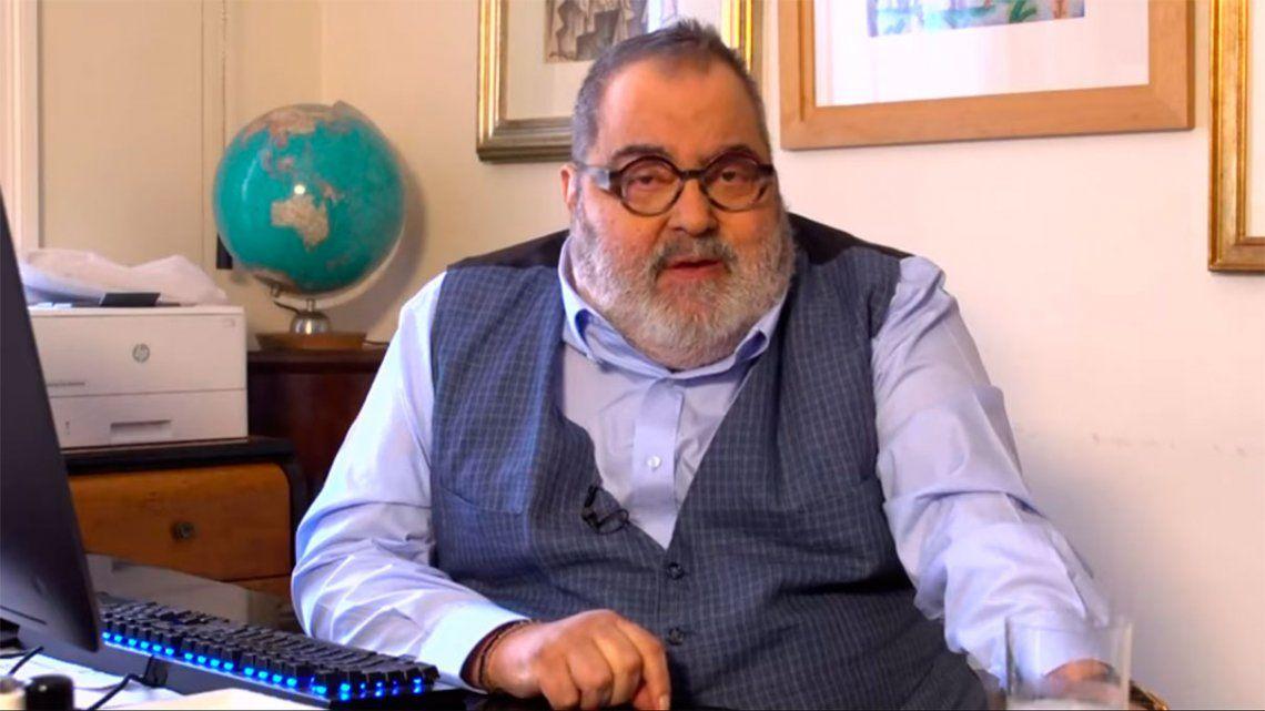 Jorge Lanata volvió a internarse para iniciar una rehabilitación