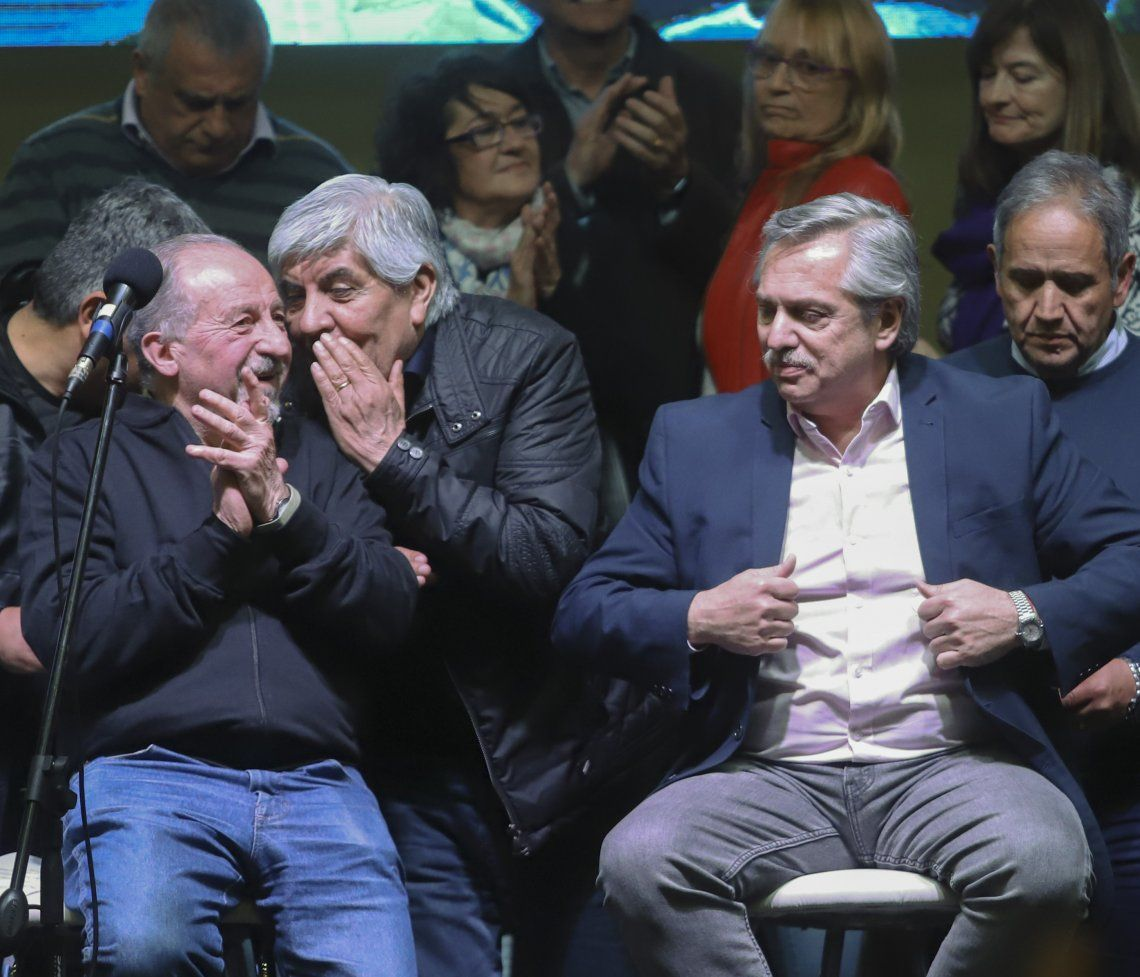 La CTA de Hugo Yasky se reunificó con la CGT: Alberto Fernández, Hugo Moyano y Máximo Kirchner vieron en primera fila la votación