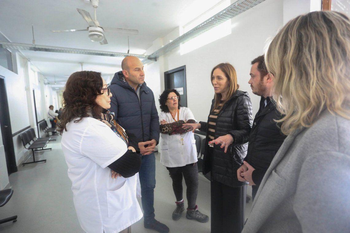 Quilmes: María Eugenia Vidal visitó el centro de salud Don Bosco