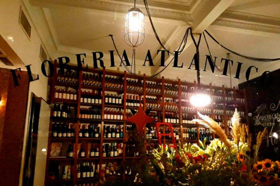 Florería Atlántico quedó tercero entre los 50 mejores bares del mundo