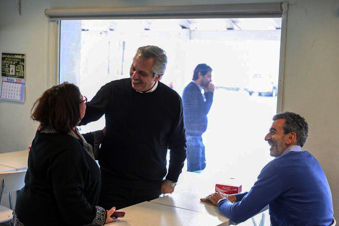 Se difundieron las primeras imágenes del encuentro entre Alberto Fernández y Florencio Randazzo