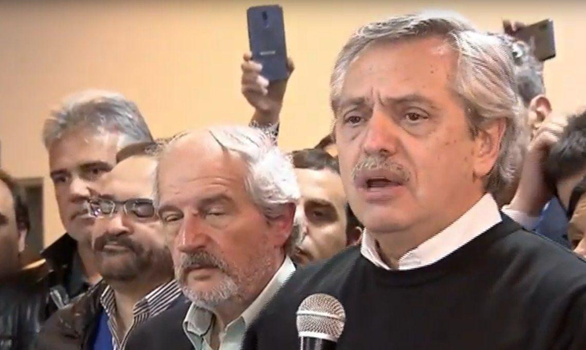 Alberto Fernández en Chacabuco: No somos capaces de alimentar a 15 millones de pobres