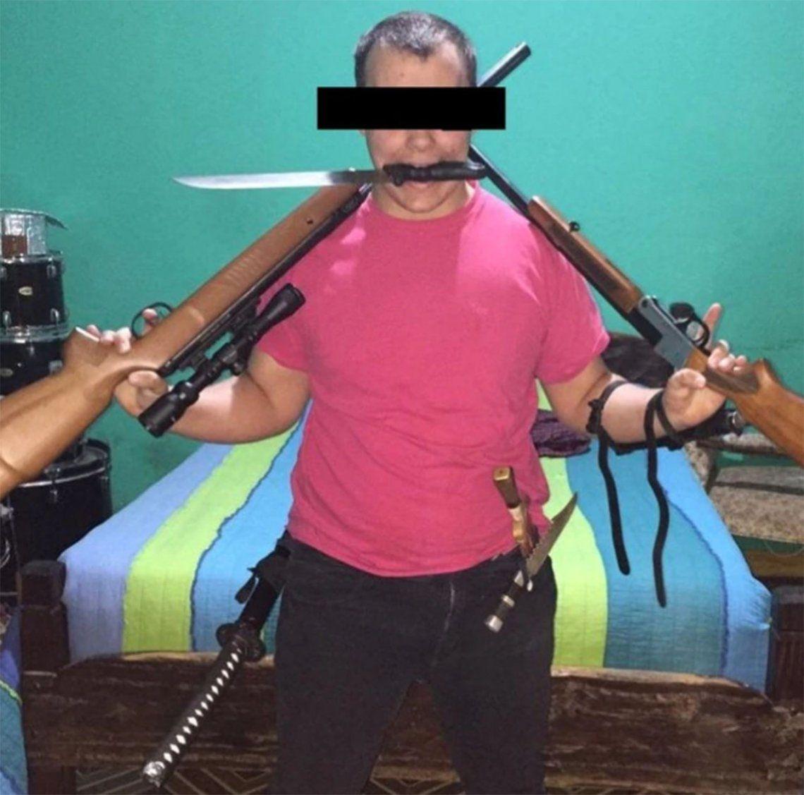 Los voy a matar a todos: la amenaza de un estudiante detenido con un arsenal a sus compañeros