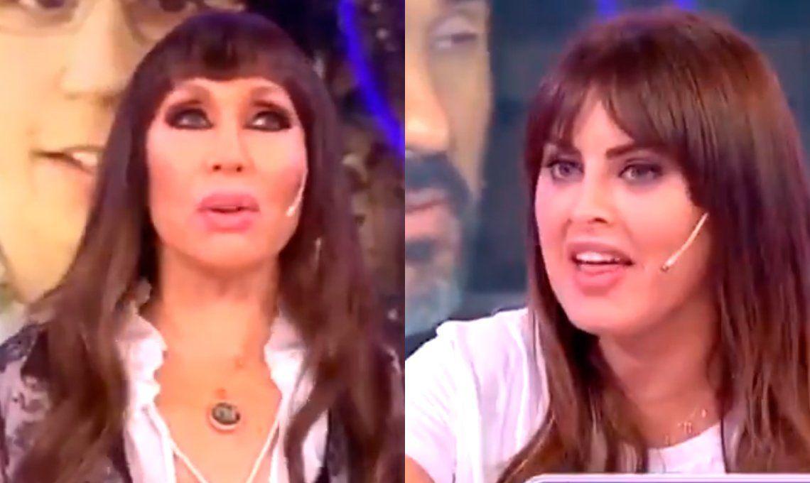 Moria Casán se quedó con la sangre en el ojo por el desplante de Silvina Luna