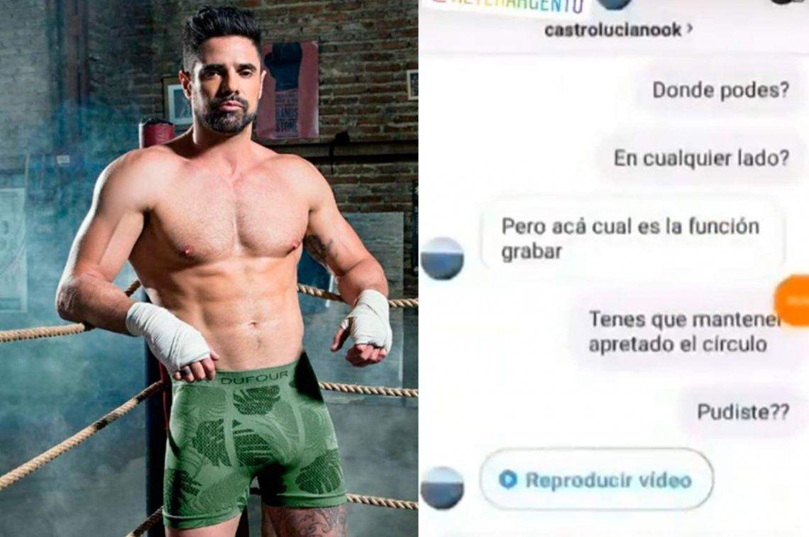 Difunden nuevas fotos y hasta un video de Luciano Castro