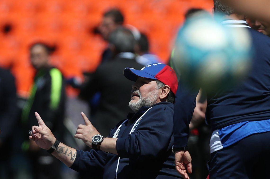 Y un día, Diego pudo sonreír: triunfazo de Gimnasia sobre Godoy Cruz en Mendoza