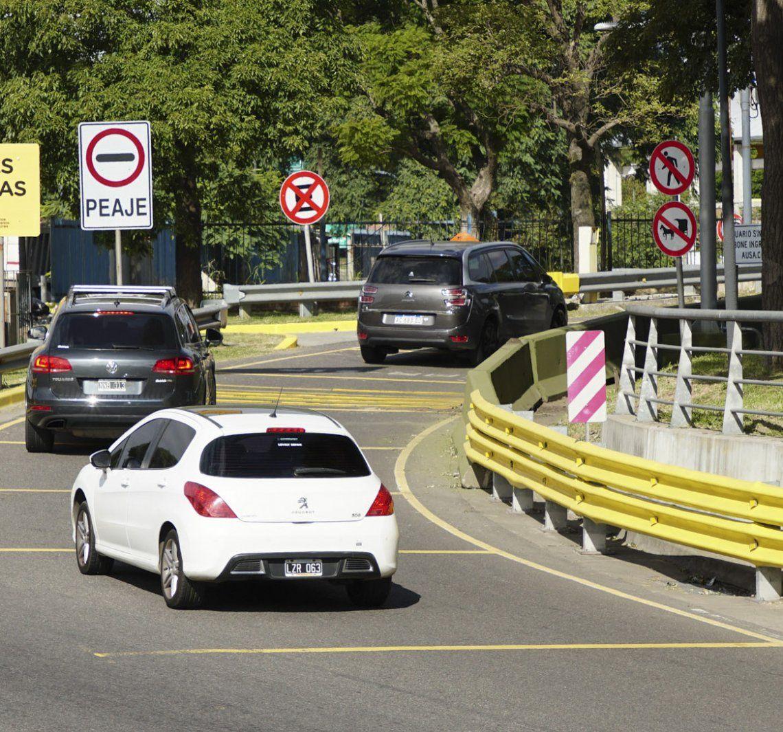 La media anual del parque automotor argentino es de 12.322 kilómetros.