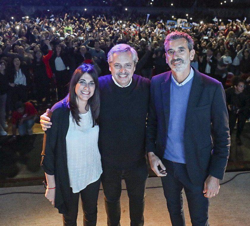 Alberto Fernández estuvo en un acto en Chivilcoy junto a Randazzo.