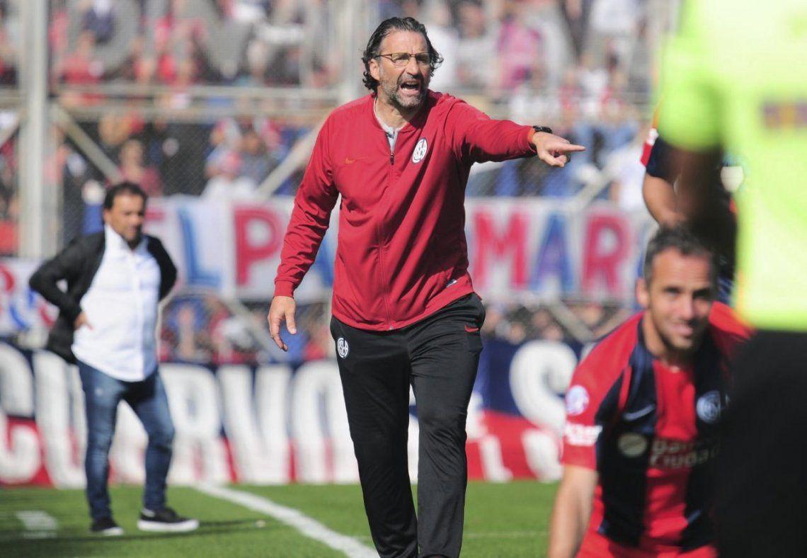 Sí, me pongo plazo: el fuerte mensaje de Pizzi tras la goleada sufrida por San Lorenzo
