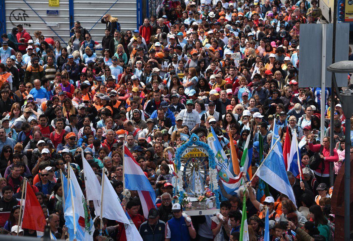 El obispo Juan Carlos Ares señaló que pedir por la unidad es un anhelo profundo.