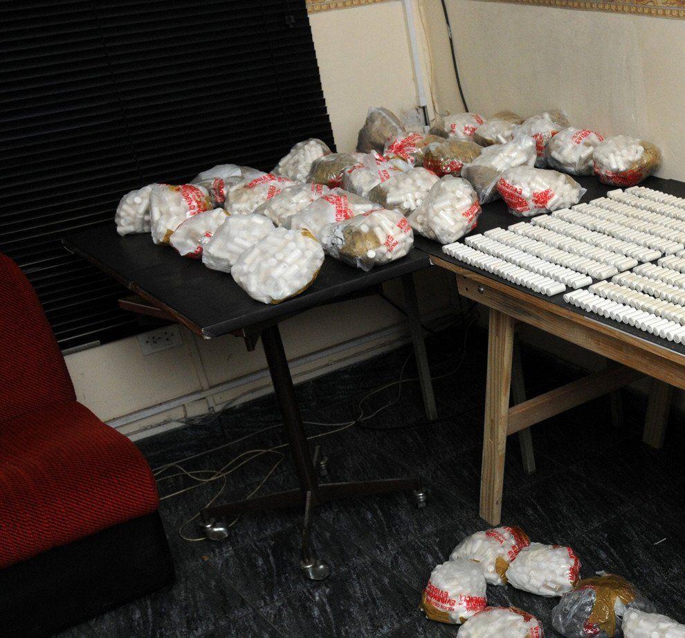 Varios departamentos se utilizan para la venta de drogas.