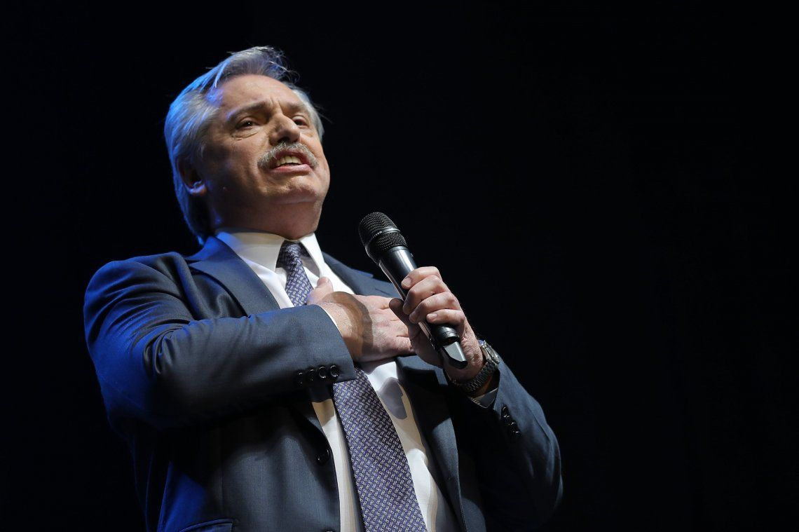 Alberto Fernández anticipó que en caso de ser electo realizaría cambios en Bienes Personales