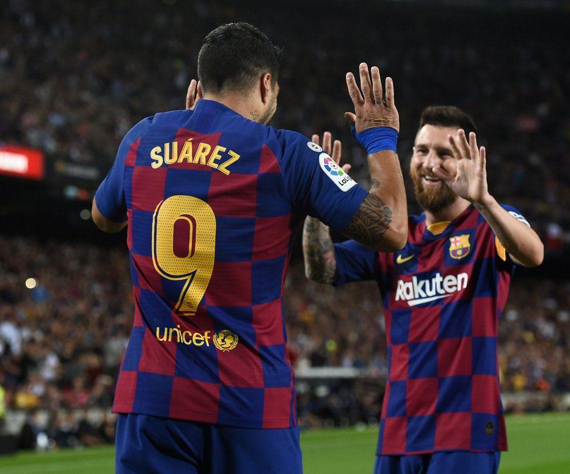 Barcelona armó una fiesta ante Sevilla y Messi se anotó con un golazo