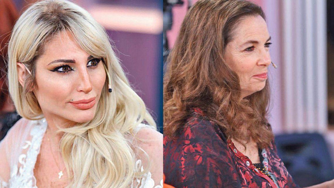Vicky Xipolitakis y Sandra Mihanovich impusieron a Mirtha Legrand sus roles de madre