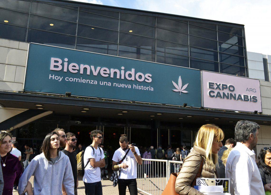 Más de 56 mil personas asistieron a la Expo Cannabis en La Rural - Foto Nadia Pizzulo