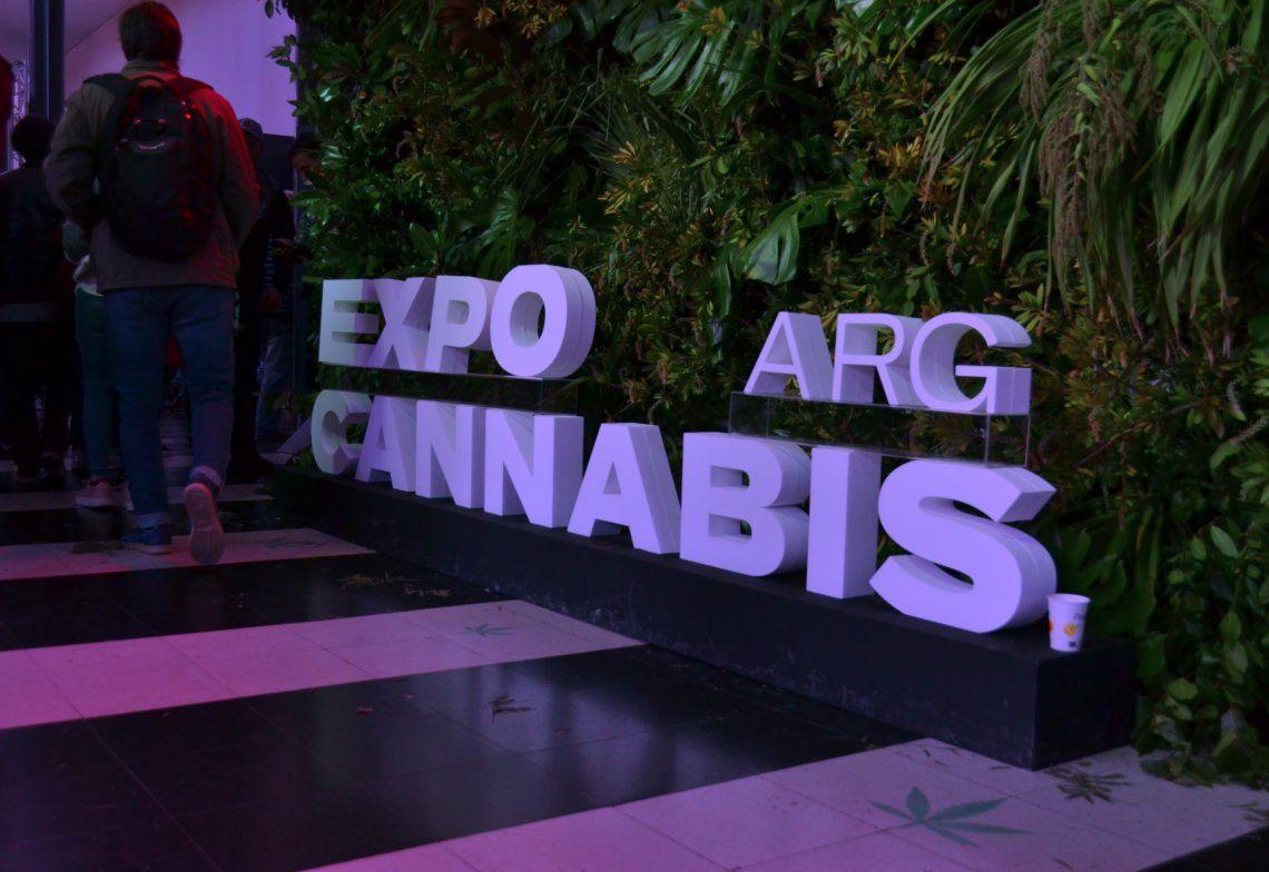 Expo Cannabis en La Rural - Foto Nadia Pizzulo