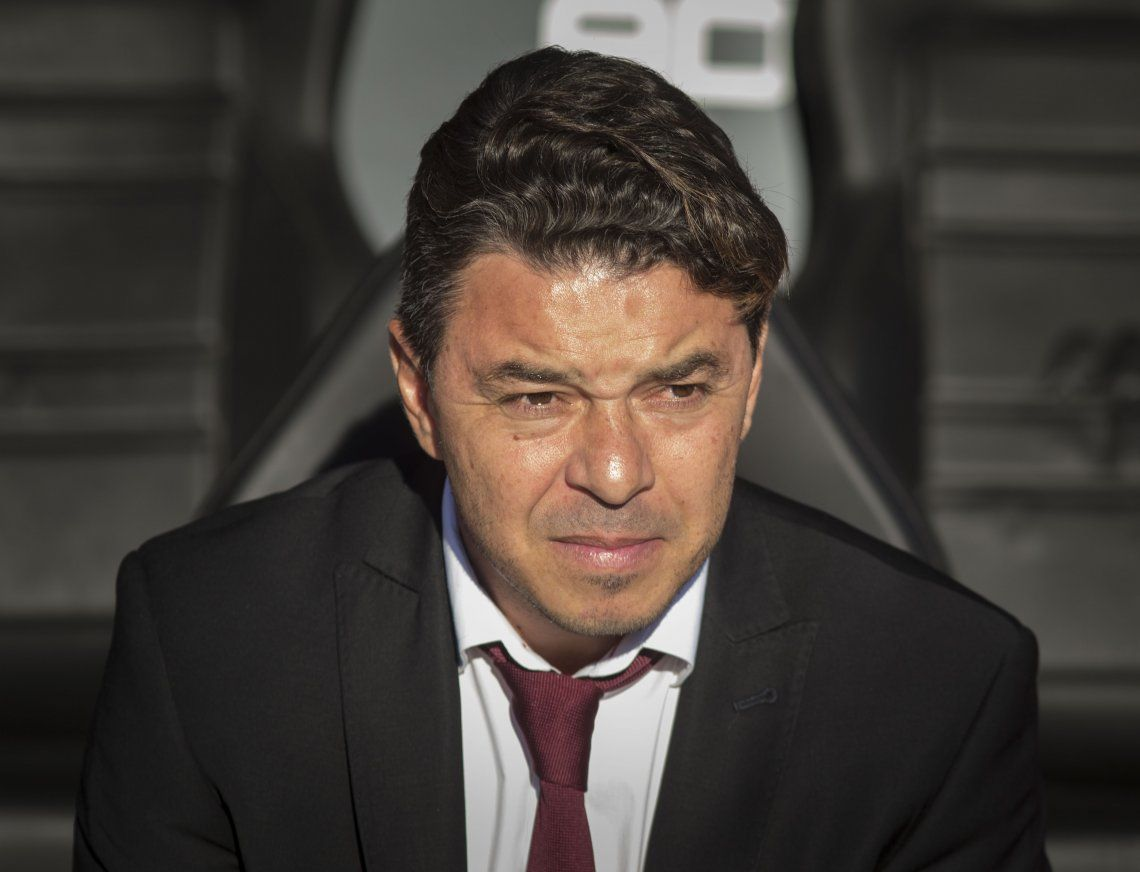 Gallardo confirmó el equipo y tiró un dardo: El partido de mi vida ya lo jugué en Madrid