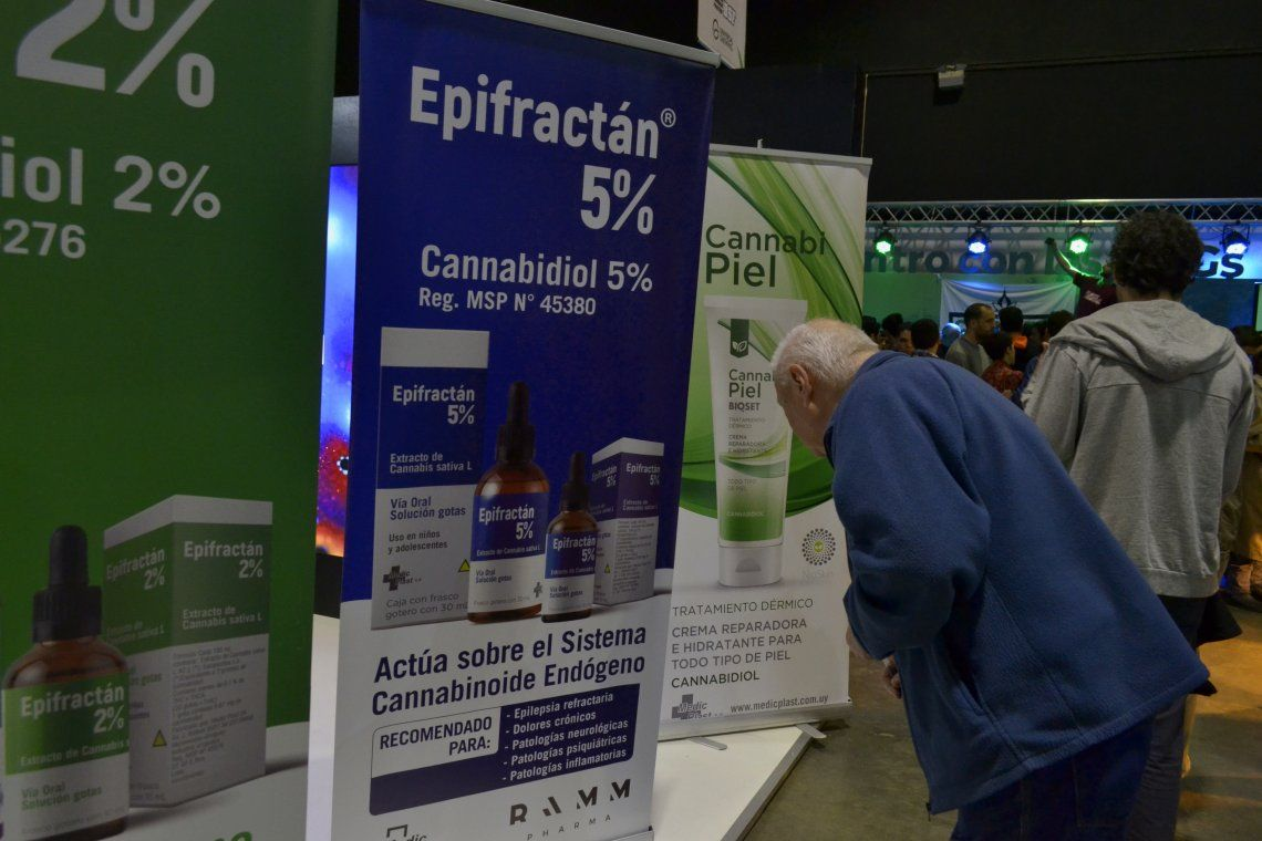 La consciencia sobre el cannabis medicinal se expandió en La Rural - Foto: Nadia Pizzulo