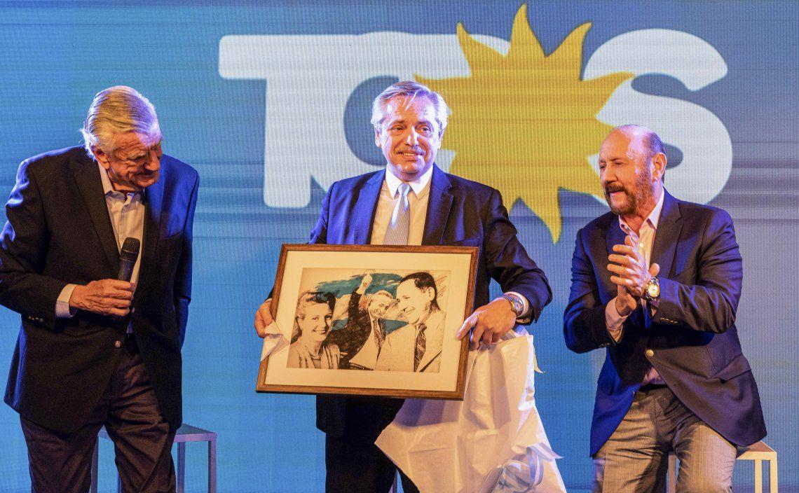 José Luis Gioja respaldó unas vez más la idea de que Alberto Fernández presida el PJ.