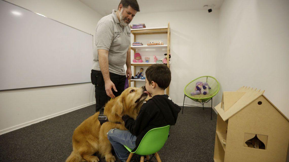 Los chicos abusados podrán estar con el perro Titán en cámara Gesell