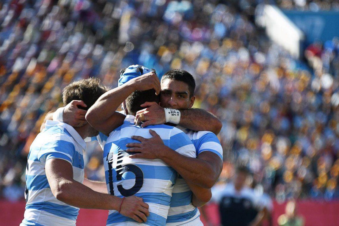Las mejores fotos de la victoria de Los Pumas ante Estados Unidos
