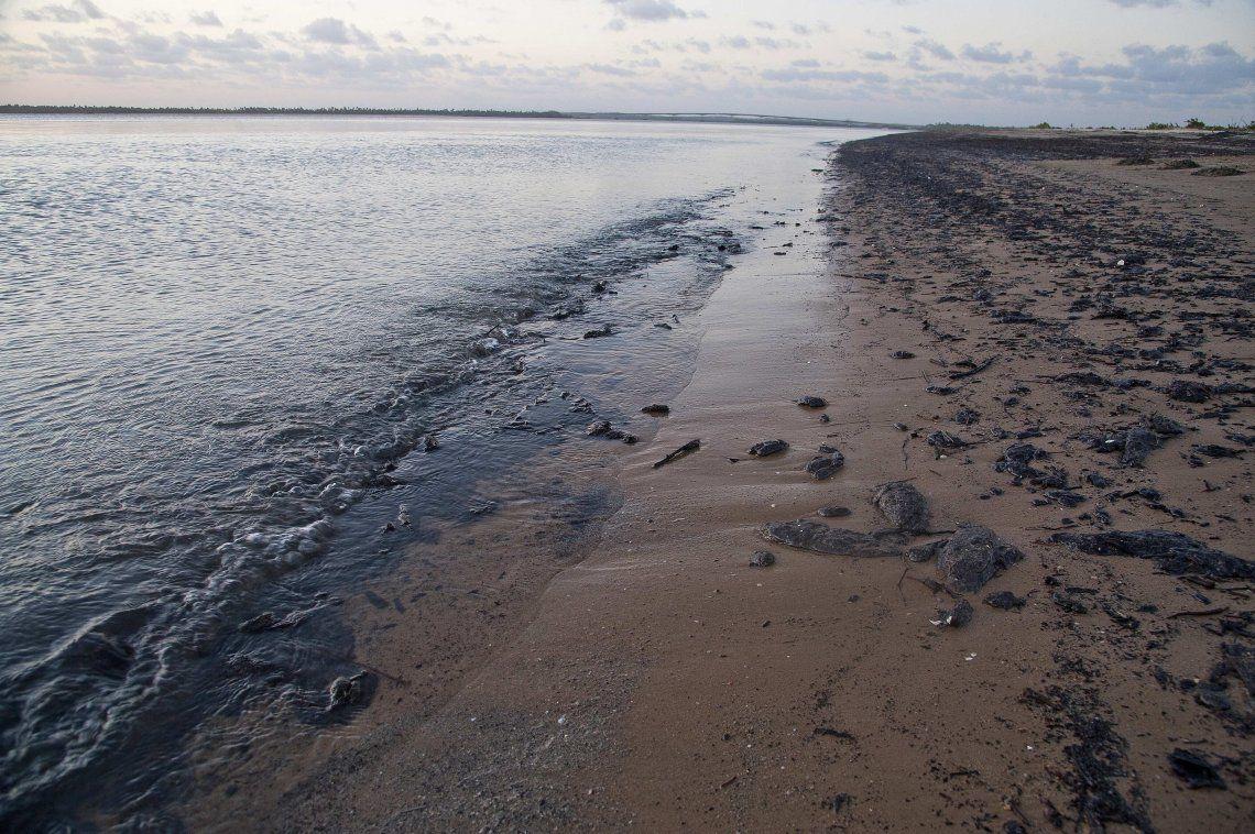 Brasil: investigan la aparición de misteriosas manchas de petróleo en más de cien playas