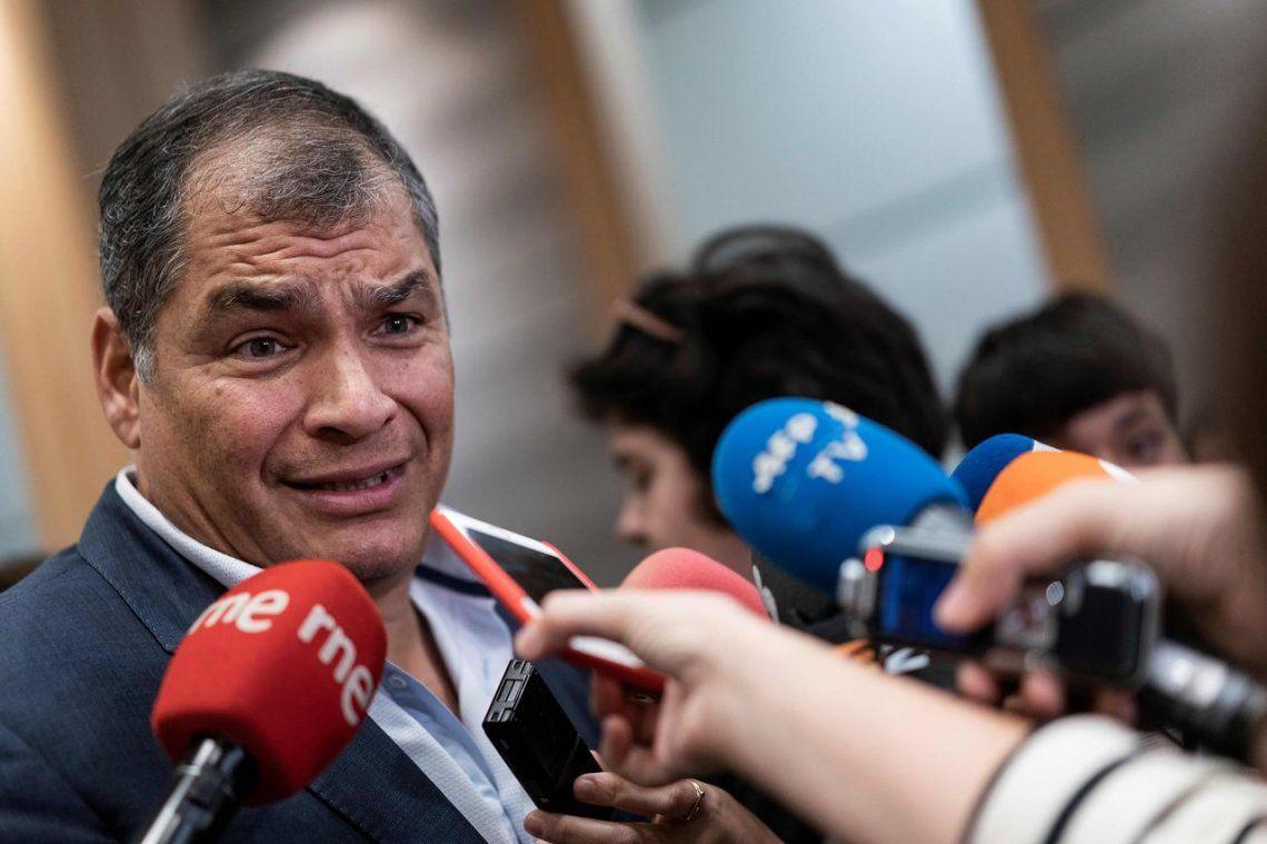 Crisis en Ecuador: Rafael Correa pidió adelantar las elecciones y se ofreció como candidato