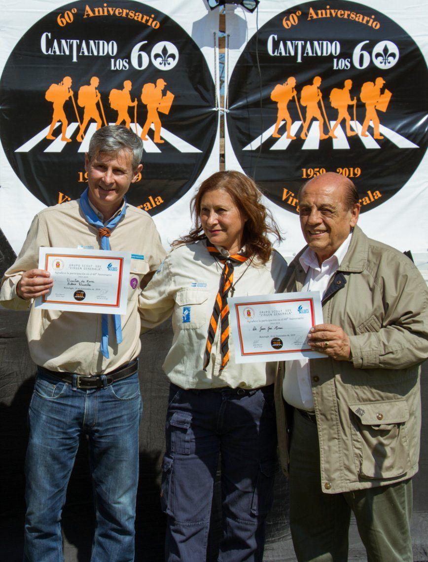 Berazategui: el Grupo de Scout Virgen Generala cumplió 60 años