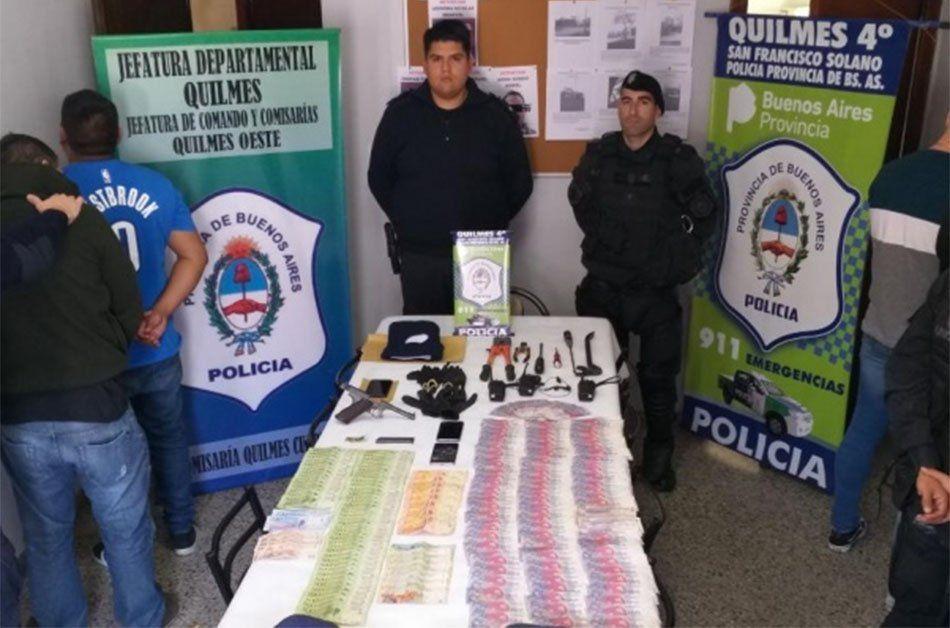 Quilmes: cayó La Banda de Droopy en San Francisco Solano