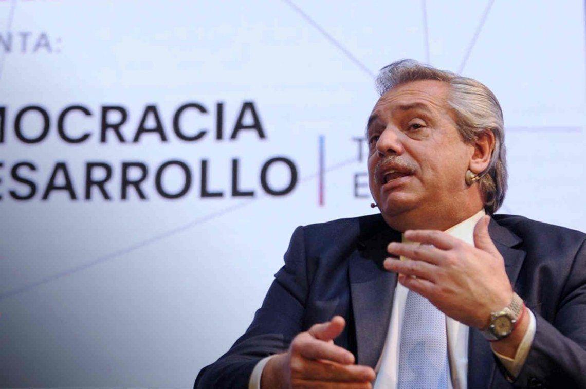 Alberto Fernández volvió a destacar a Lavagna y dijo que quiere un ministro de economía fuerte