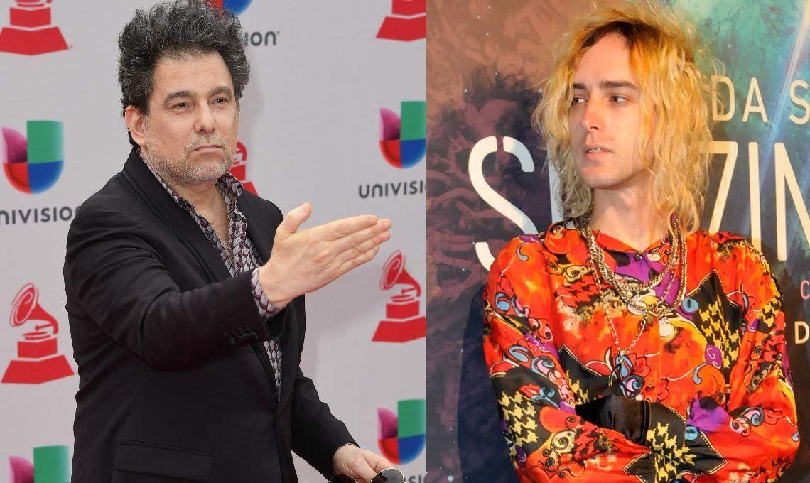 Andrés Calamaro cuestionó a Benito Cerati por su enfado con Zeta Bosio y Charly Alberti tras fotografiarse con Horacio Rodríguez Larreta