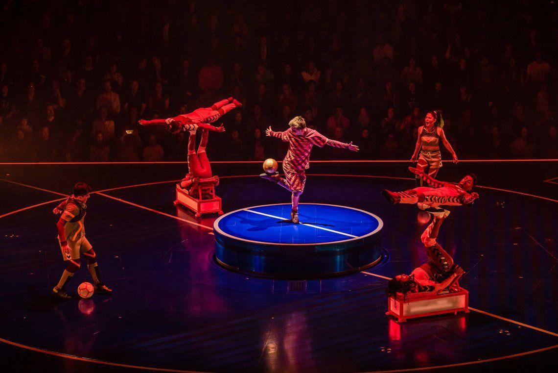 Messi10 by Cirque du Soleil: las mejores imágenes del estreno