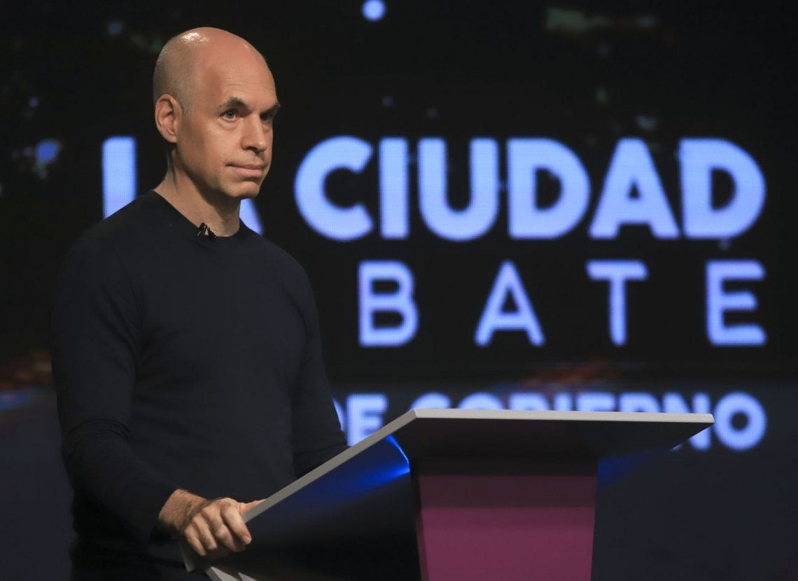Horacio Rodríguez Larreta en el debate porteño: Todos los delitos bajaron
