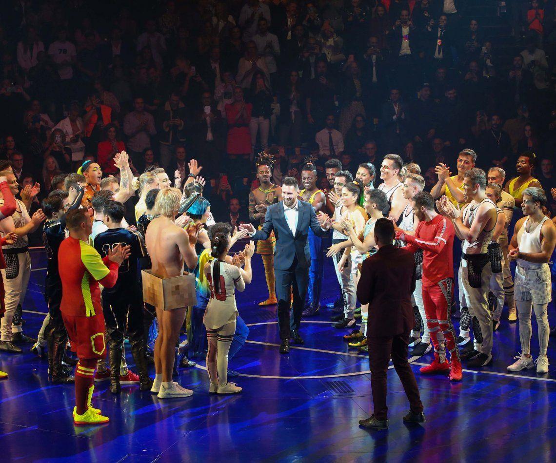 Messi en el escenario